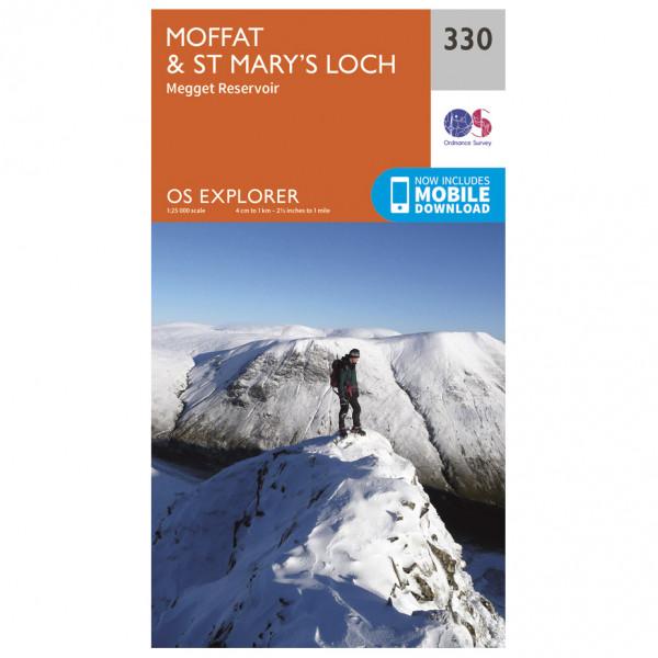 Ordnance Survey - Moffat / St Mary's Loch - Wandelkaart