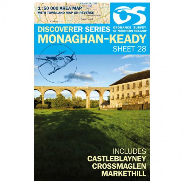 Ordnance Survey - Monaghan-Keady (Castleblayney) - Hiking map