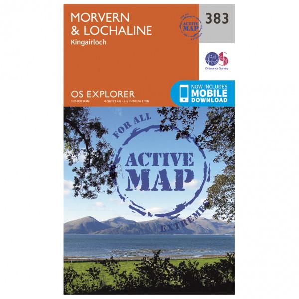 Ordnance Survey - Morvern / Lochaline Waterproof - Vaelluskartat