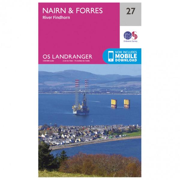 Ordnance Survey - Nairn / Forres - Hiking map