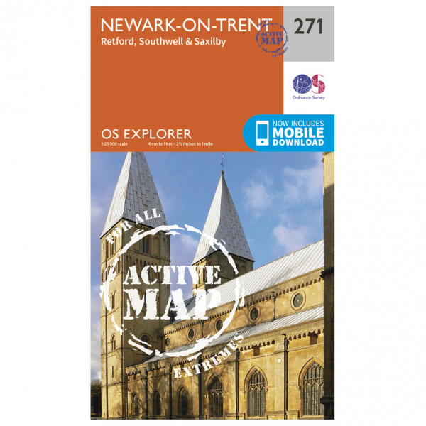 Ordnance Survey - Newark-On-Trent Waterproof - Vandringskartor
