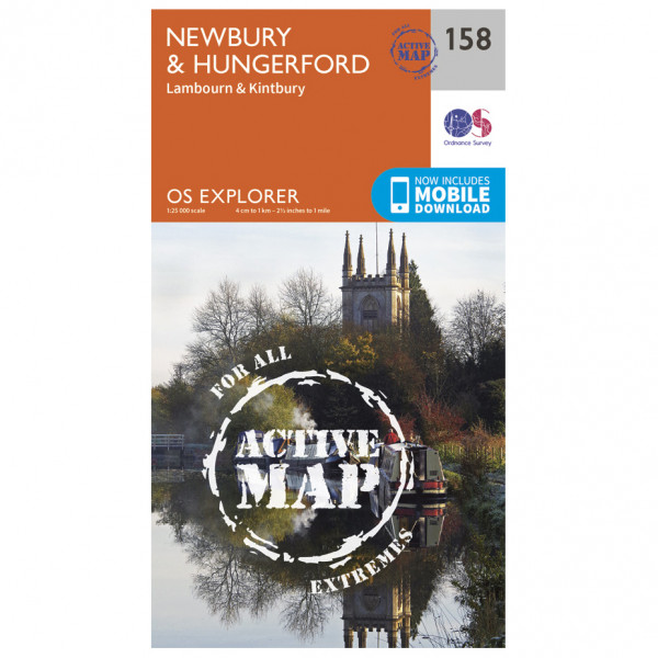 Ordnance Survey - Newbury / Hungerford Waterproof - Vaelluskartat