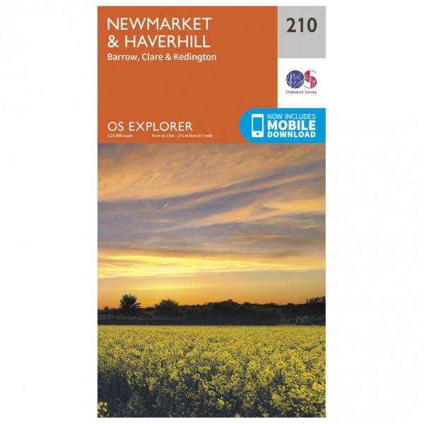 Ordnance Survey - Newmarket / Haverhill / Barrow - Hiking map
