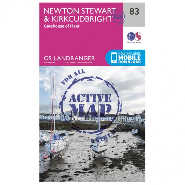 Ordnance Survey - Newton Stewart / Kirkcudbright Waterproof - Wandelkaarten