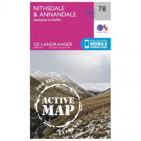 Ordnance Survey - Nithsdale / Annandale Waterproof - Turkart