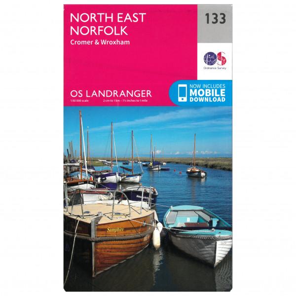 Ordnance Survey - North East Norfolk - Vandringskartor