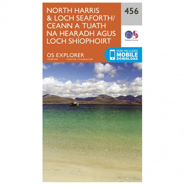 Ordnance Survey - North Harris / Loch Seaforth EXP456 - Wanderkarte