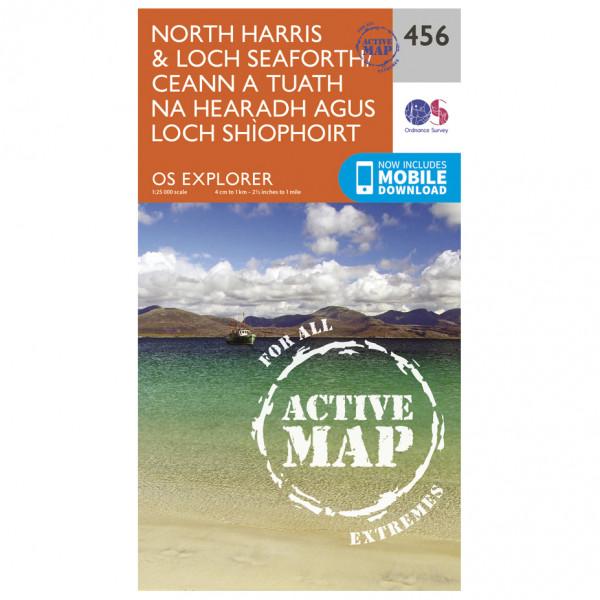 Ordnance Survey - North Harris / Loch Seaforth Waterproof - Mapa de senderos