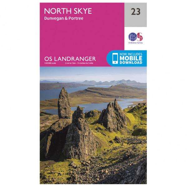 Ordnance Survey - North Skye - Vandrekort