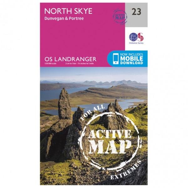 Ordnance Survey - North Skye Waterproof - Vaelluskartat