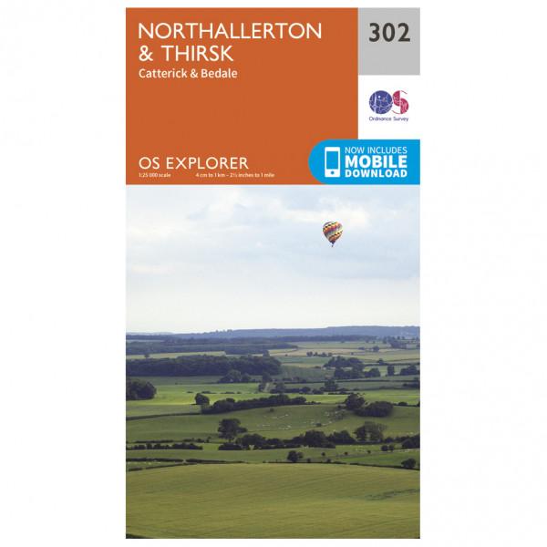 Ordnance Survey - Northallerton / Thirsk - Hiking map