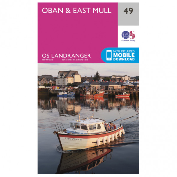 Ordnance Survey - Oban / East Mull - Hiking map