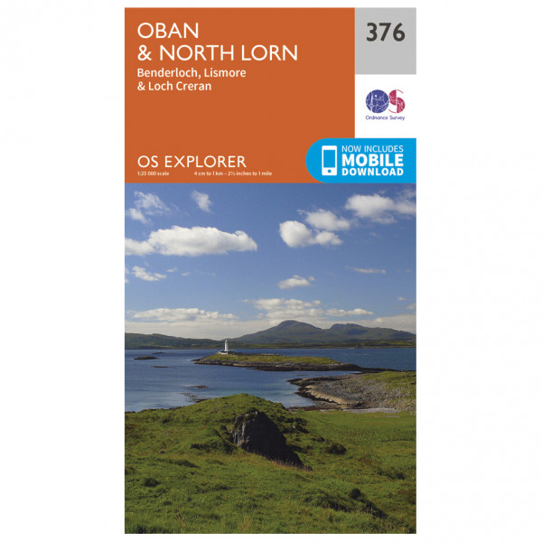 Ordnance Survey - Oban / North Lorn - Turkart