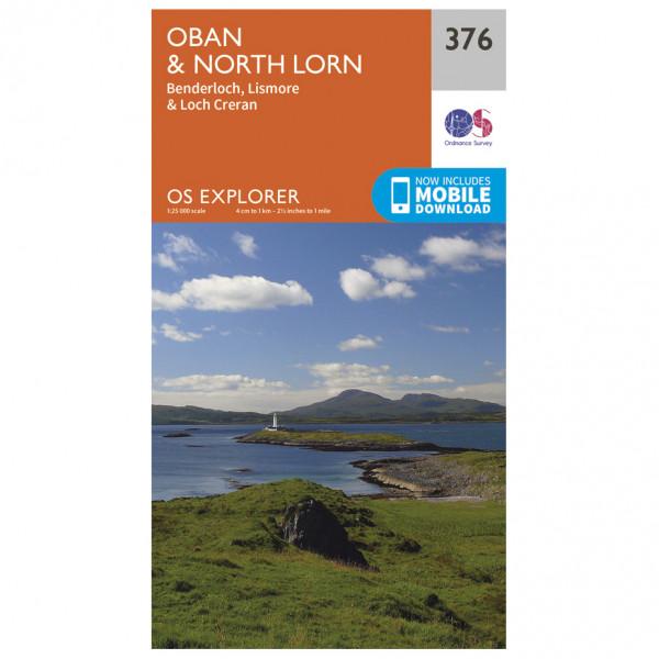 Ordnance Survey - Oban / North Lorn - Vaelluskartat