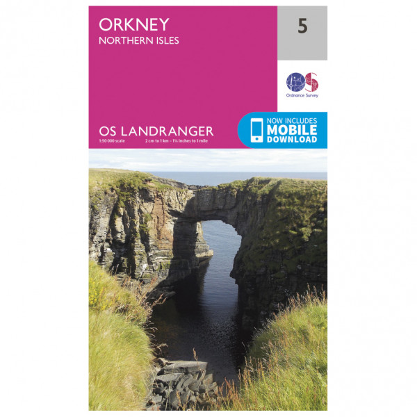 Ordnance Survey - Orkney - Northern Isles - Hiking map