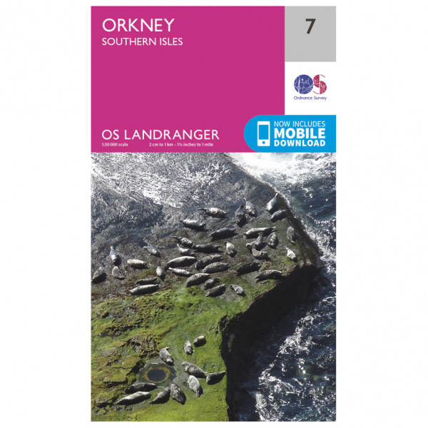 Orkney - Southern Isles - Hiking map