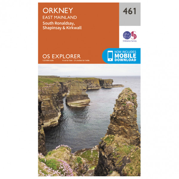 Ordnance Survey - Orkney / East Mainland - Vaelluskartat