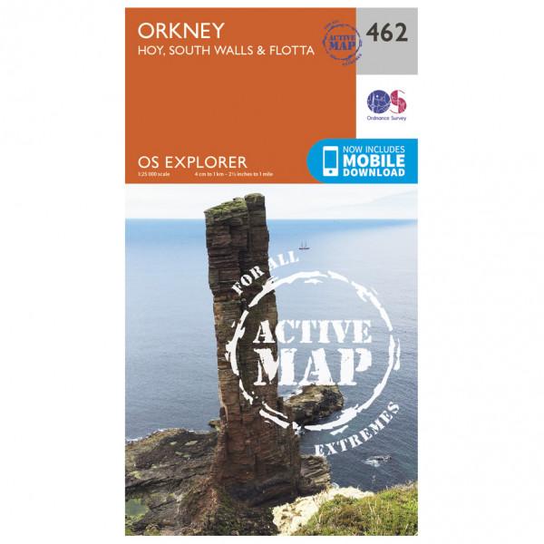 Ordnance Survey - Orkney / Hoi / South Walls / Flotta Waterproof - Mapa de senderos