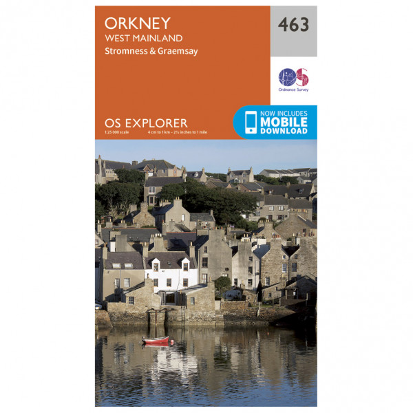 Ordnance Survey - Orkney / West Mainland - Hiking map