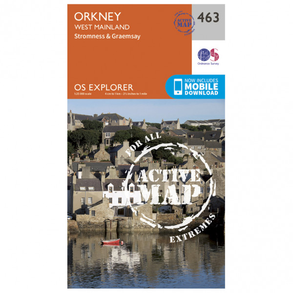 Ordnance Survey - Orkney / West Mainland Waterproof - Vandrekort