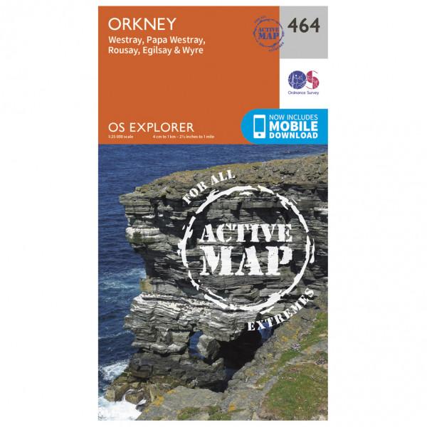 Ordnance Survey - Orkney / Westray Waterproof - Vandringskartor