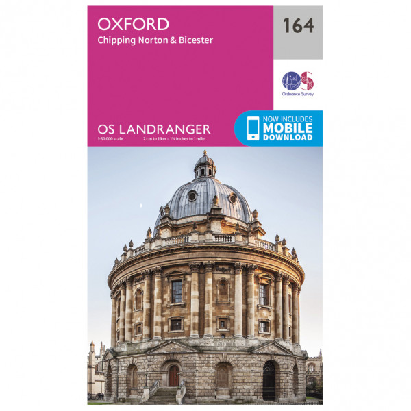Ordnance Survey - Oxford / Chipping Norton / Bicester - Vaelluskartat