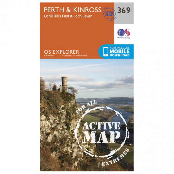 Ordnance Survey - Perth / Kinross Waterproof - Vandrekort
