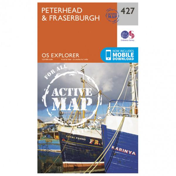 Ordnance Survey - Peterhead / Fraserburgh Waterproof - Wandelkaarten