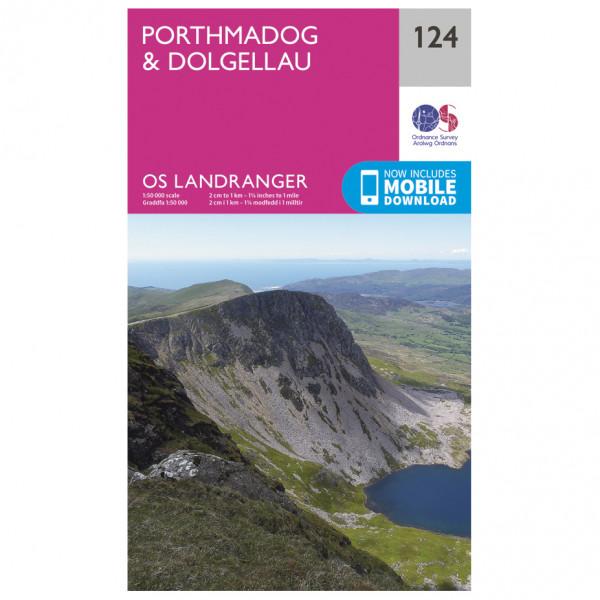Ordnance Survey - Porthmadog / Dolgellau - Vandrekort