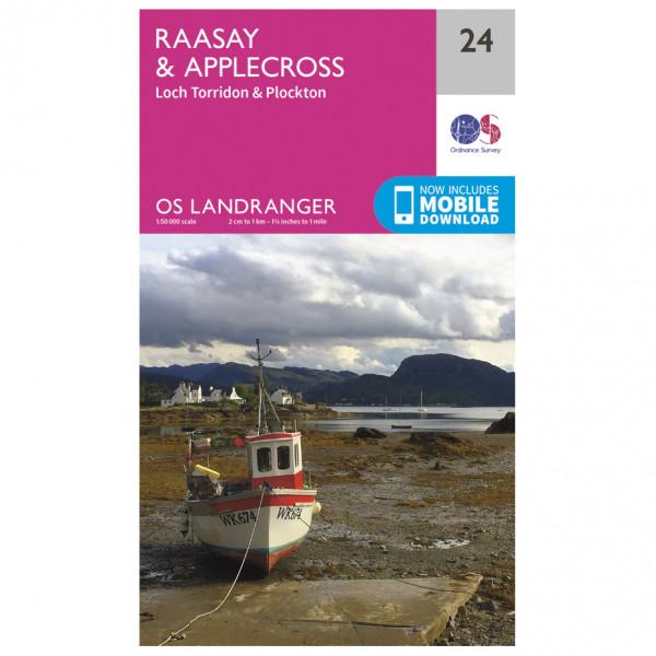 Ordnance Survey - Raasay / Applecross - Vandringskartor