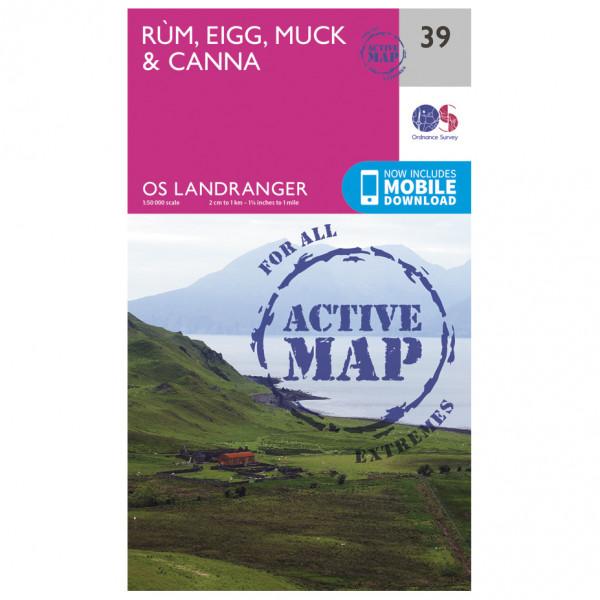Ordnance Survey - Rum / Eigg / Muck Waterproof - Hiking map