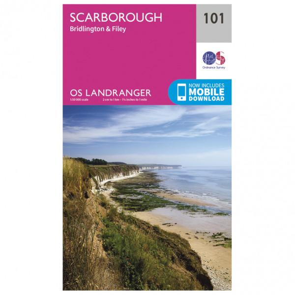 Scarborough - Hiking map