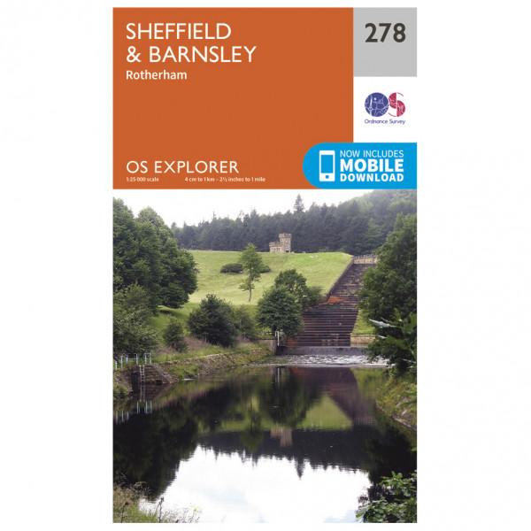Ordnance Survey - Sheffield / Barnsley - Vandringskartor