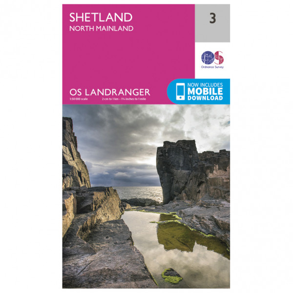 Ordnance Survey - Shetland - North Mainland - Vaelluskartat