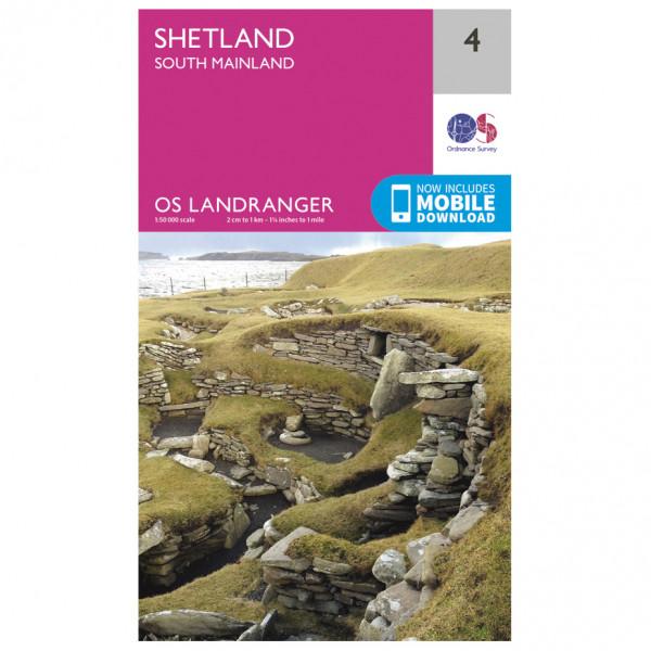 Ordnance Survey - Shetland - South Mainland - Vaelluskartat