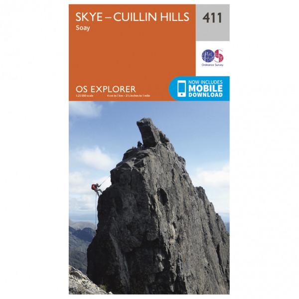 Ordnance Survey - Skye / Cuillin Hills - Vaelluskartat