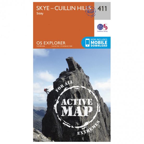 Ordnance Survey - Skye / Cuillin Hills Waterproof - Vandringskartor