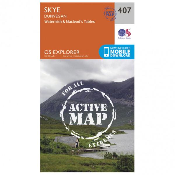 Ordnance Survey - Skye / Dunvegan Waterproof - Hiking map