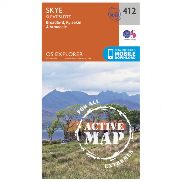 Ordnance Survey - Skye / Sleat Waterproof - Vandringskartor
