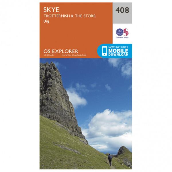 Ordnance Survey - Skye / Trotternish / The Storr - Vaelluskartat