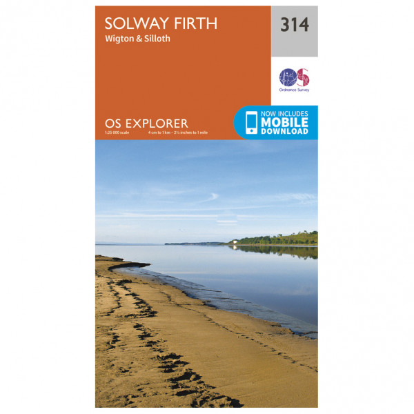 Ordnance Survey - Solway Firth / Wigton / Silloth - Hiking map