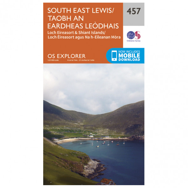 Ordnance Survey - South East Lewis - Hiking map