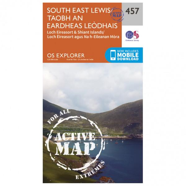 Ordnance Survey - South East Lewis Waterproof - Mapa de senderos