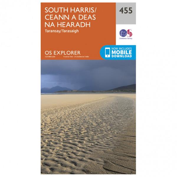 Ordnance Survey - South Harris - Vaelluskartat