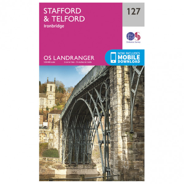 Stafford / Telford - Hiking map