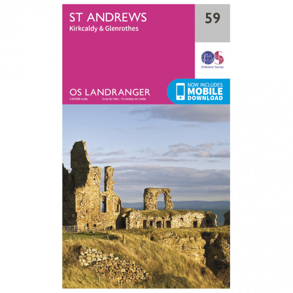 Ordnance Survey - St-Andrews - Wandelkaart