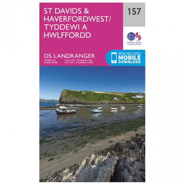 Ordnance Survey - St-David's / Haverfordwest - Vaelluskartat
