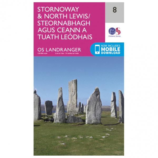 Ordnance Survey - Stornoway / North Lewis - Vandringskartor