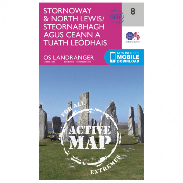 Ordnance Survey - Stornoway / North Lewis Waterproof - Wanderkarte