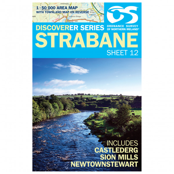 Ordnance Survey - Strabane - Hiking map